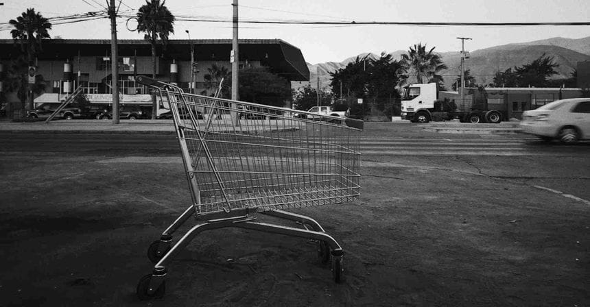 A photo of a grey shopping cart by Alejandro MAVVV on Unsplash